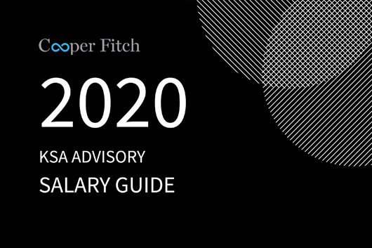Advisory KSA salary guide 2020 Cooper Fitch