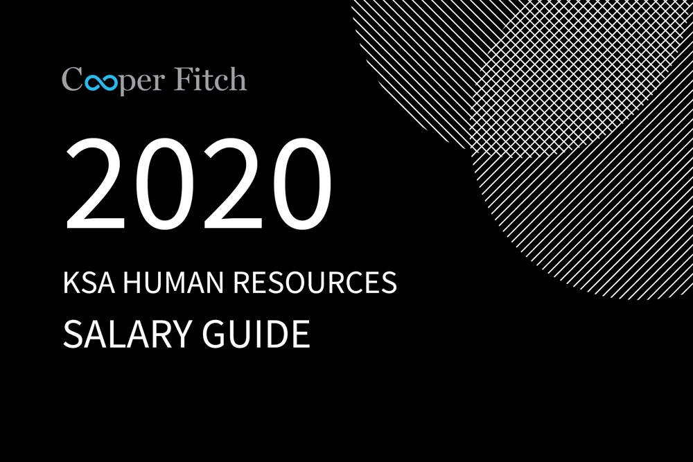 Human Resources KSA salary guide 2020 Cooper Fitch