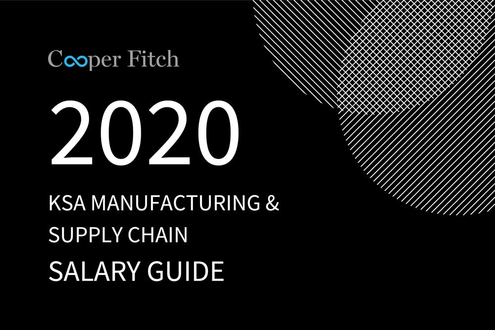Manufacturing & Supply Chain KSA salary guide 2020 Cooper Fitch