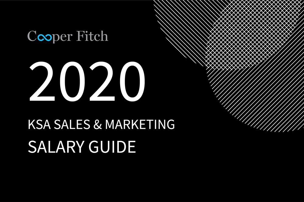 Sales & Marketing KSA salary guide 2020 Cooper Fitch