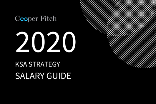Strategy KSA salary guide 2020 Cooper Fitch