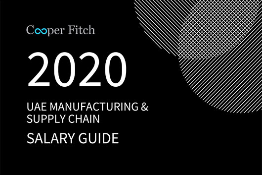 Manufacturing & Supply Chain UAE salary guide 2020 Cooper Fitch