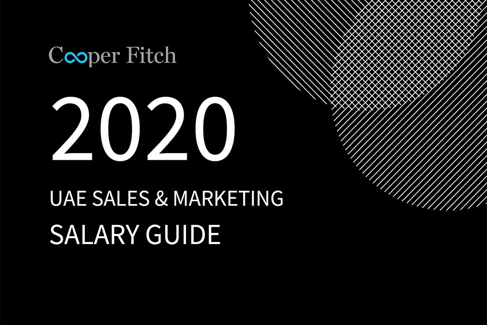 Sales & Marketing UAE salary guide 2020 Cooper Fitch