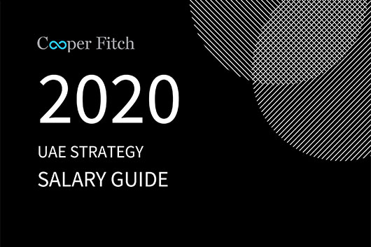 Strategy UAE salary guide 2020 Cooper Fitch