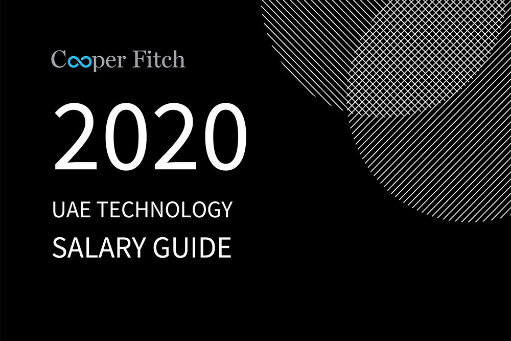Technology UAE salary guide 2020 Cooper Fitch