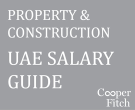 Salary Guide, Property & Construction 2015, Cooper Fitch