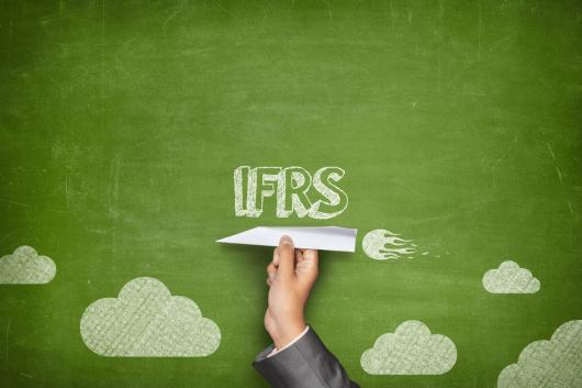 The introduction of IFRS.