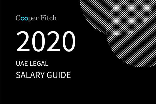 Legal UAE salary guide 2020 Cooper Fitch