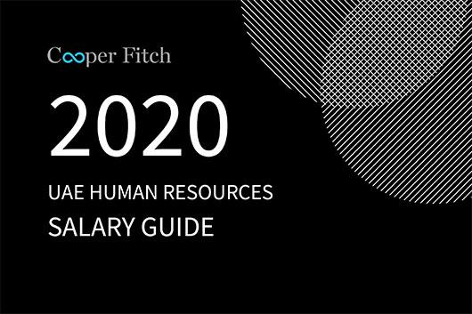Human Resources UAE salary guide 2020 Cooper Fitch